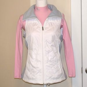 Columbia Ladies Vest White Size M